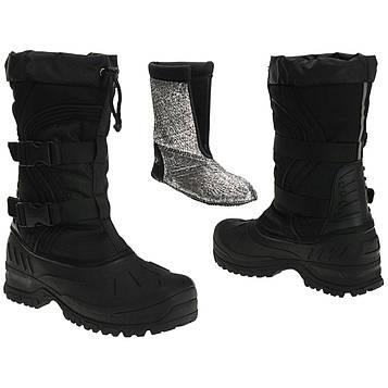 Черевики зимові Mil-Tec Snow Boots Arctic Чорні