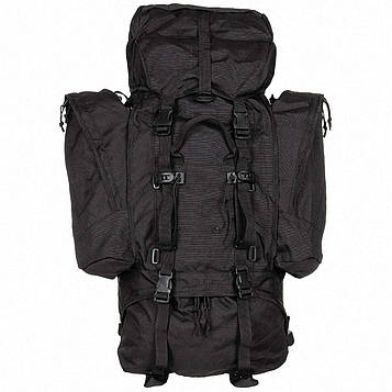 Рюкзак с отстегивающимися боковыми карманами 110л «Alpin 110» Черный