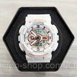 Наручний годинник Casio G-Shock GA-110 White-Cuprum