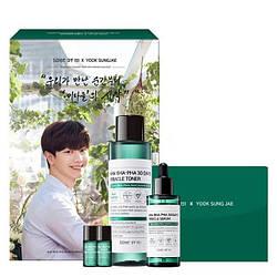 Набор для проблемной кожи Some By Mi AHA BHA PHA 30 Days Miracle Toner & Serum Limited Edition