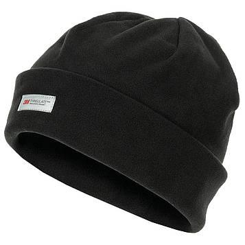 Флісова Шапка з відворотом Pro Company 3M Thinsulate Чорна