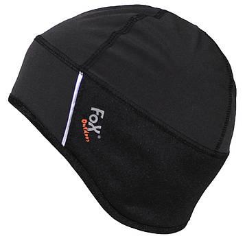 Шапка для спорту Fox Outdors Soft Shell Чорна