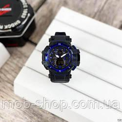 Наручний годинник Casio G-Shock GW-A1100 Black-Blue