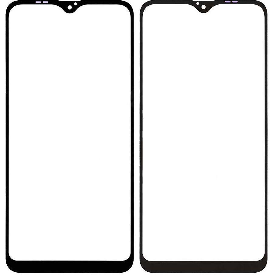 Корпусное стекло дисплея Samsung Galaxy A10 A105 2019 (с OCA пленкой) (original) Black
