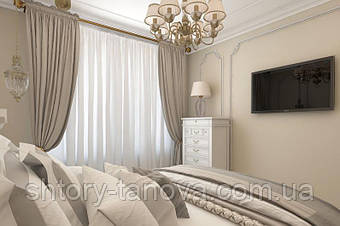Як вибрати штори в спальню