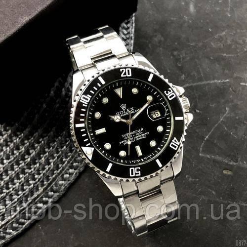 Наручные часы Rolex Submariner Automatic Silver-Black
