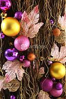 Новогоднее оформление помещений, елки, фасада, территории