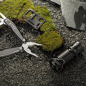 """Набір інструментів """"Авантюрист"""": ліхтарик + ділової мультитул + мультитул-кредитка"""