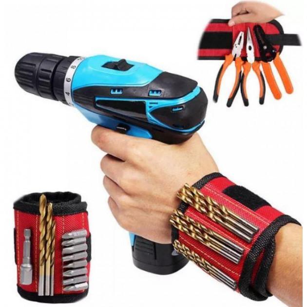 Магнитный браслет для мелких не пластиковых креплений Magnetic Wristband(300)