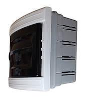 Распределительный  щиток  пластиковый для монтажа в стену 3-4 модуля