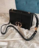 Жіноча сумка Dior Black | Клатч Діор Чорний