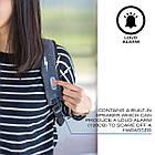 Женский рюкзак XD Design  Cathy Anti-harassment Backpack Blue рюкзак-антивор, фото 7