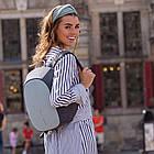 Женский рюкзак XD Design  Cathy Anti-harassment Backpack Blue рюкзак-антивор, фото 9