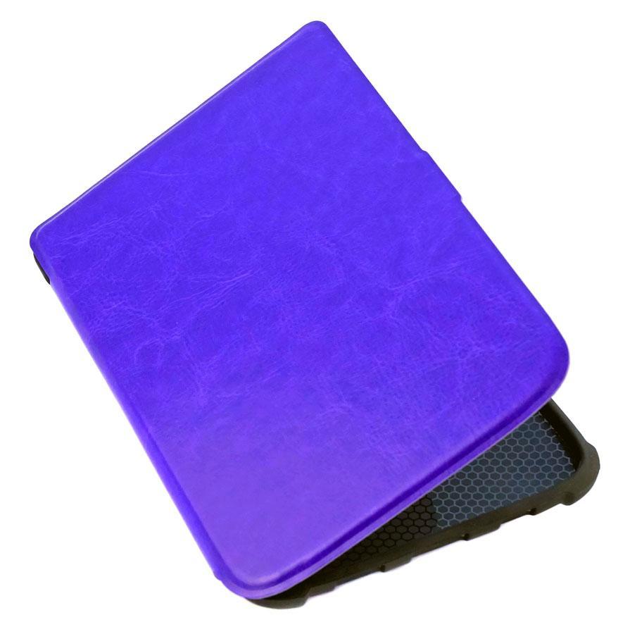 Чехол для PocketBook 616 Basic Lux 2 фиолетовый – обложка электронной книги Покетбук