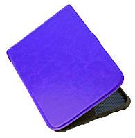 Чехол для PocketBook 616 Basic Lux 2 фиолетовый – обложка электронной книги Покетбук, фото 1