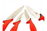 Набір кухонних ножів Swiss Zurich SZ-13101 з магнітним утримувачем, фото 3