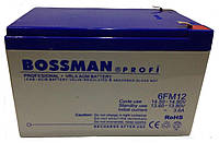 Акумуляторна батарея Bossman Profi 6FM12 12V 12Ah (LA12120)