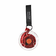 Складная компактная сумка-шоппер Lesko KX-90 Red Sshopping bag to roll up для покупок
