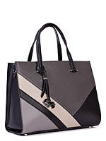 Ділова жіноча шкіряна сумка в 2х кольорах L-16975