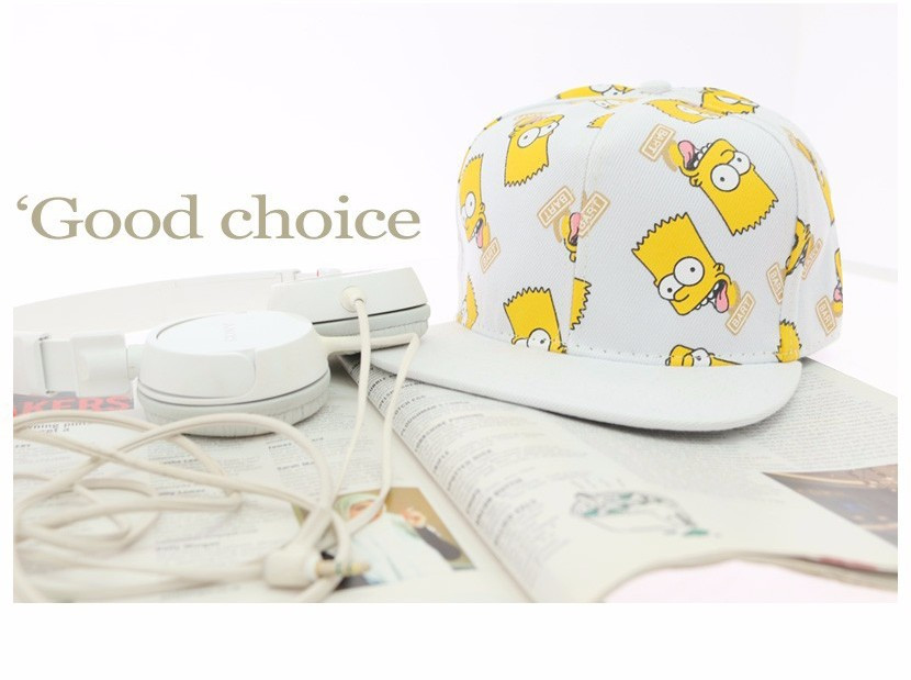 """Эксклюзивная детская бейсболка """"Симпсоны"""". Оригинальная кепка. Доступная цена. Наилучшее качество. Код: КД60"""
