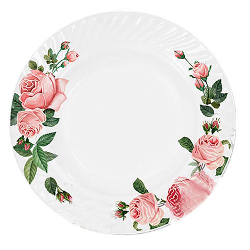Тарелка 8' Розовый бутон
