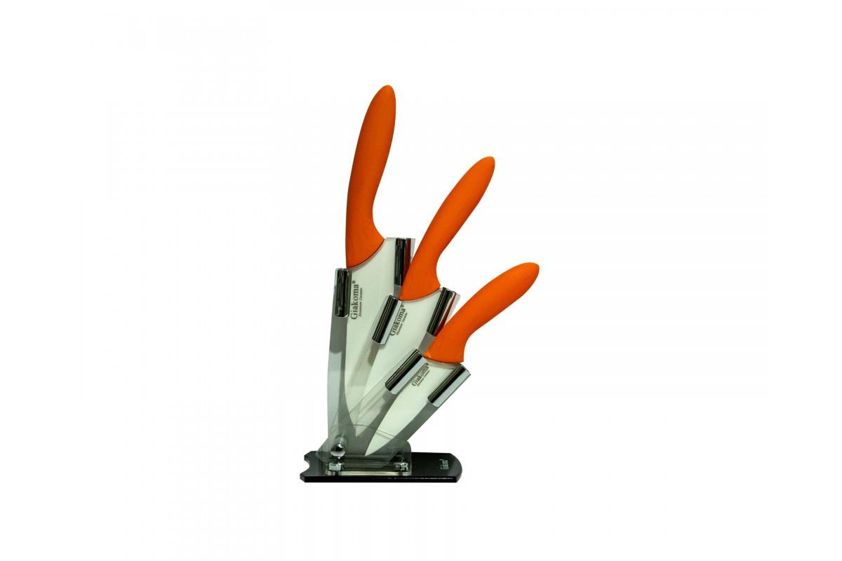 Набор керамических ножей Giakoma G 8143
