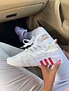 Женские кроссовки Adidas  Bask ADV White Red, фото 2