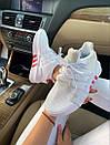 Женские кроссовки Adidas  Bask ADV White Red, фото 4
