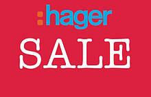 Распродажа HAGER