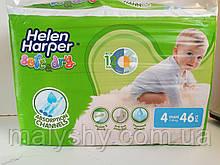Подгузники детские Helen Harper soft&dry maxi 4 (7-18 кг) 46 шт. Хелен Харпер дитячі пелюшки памперси памперсы