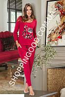 Женская пижама Shirly 5929, домашний костюм с брюками цена со склада