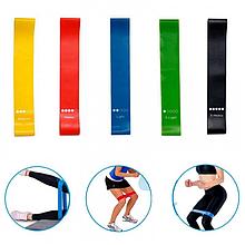 Фитнес резинки набор для домашних тренировок из 4 шт