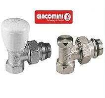 Комплект для подключения радиаторов угловой GIACOMINI