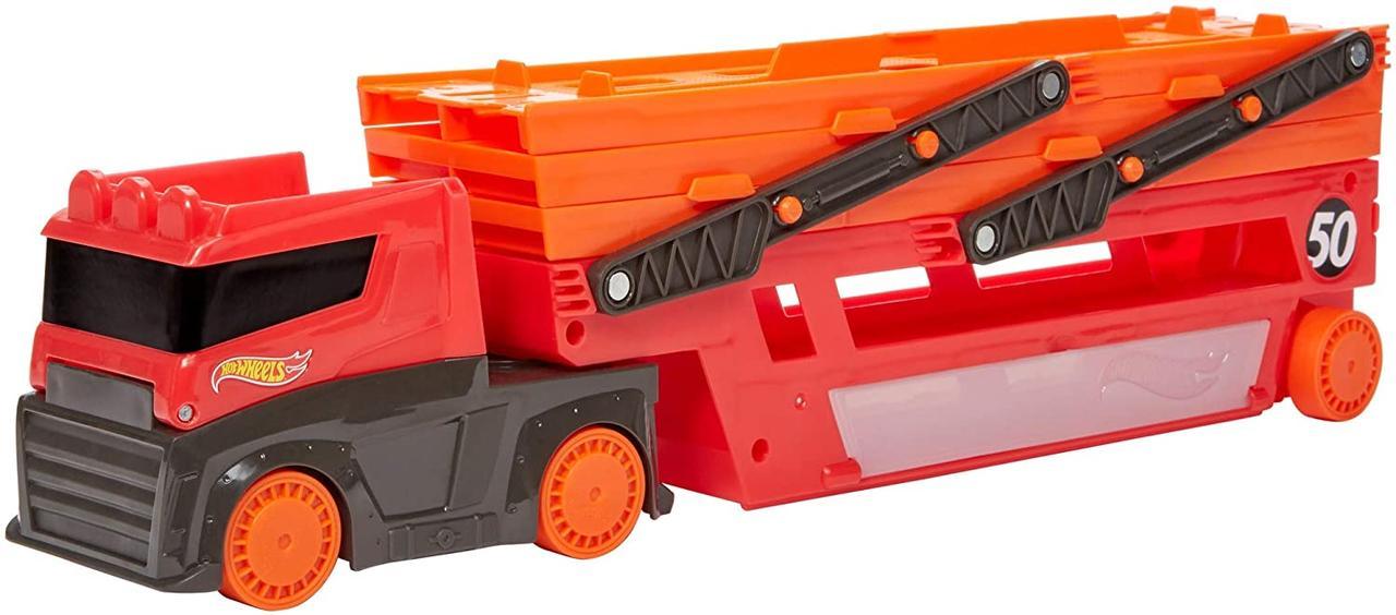Машинка Автовоз Hot Wheels Mega Hauler Truck Мега-транспортер CKC09