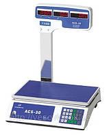 Весы электронные торговые ACS-32 718 D