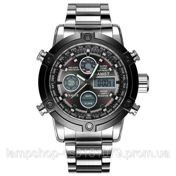 AMST 3022 Metall Silver-Black