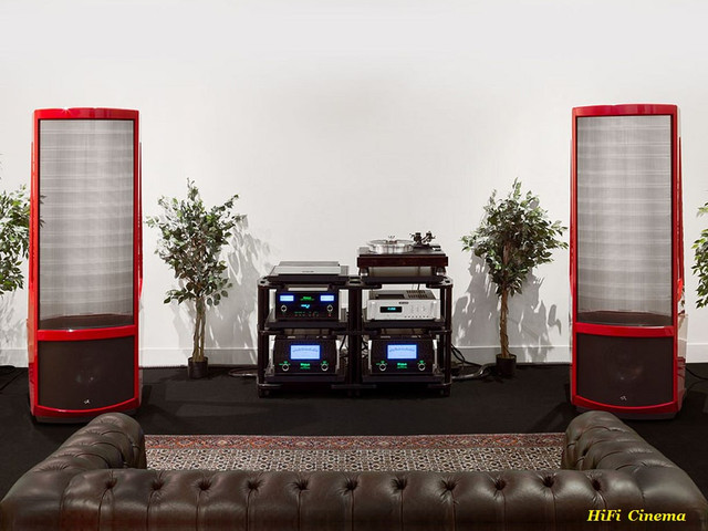 Martin Logan Neolith Red & McIntosh HiFi Cinema