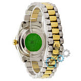 Rolex Date Just 067 Pearl Silver-Gold-Turquoise, фото 2