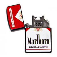 Зажигалка электроимпульсная Marlboro ZGP 21 USB (2_009330)