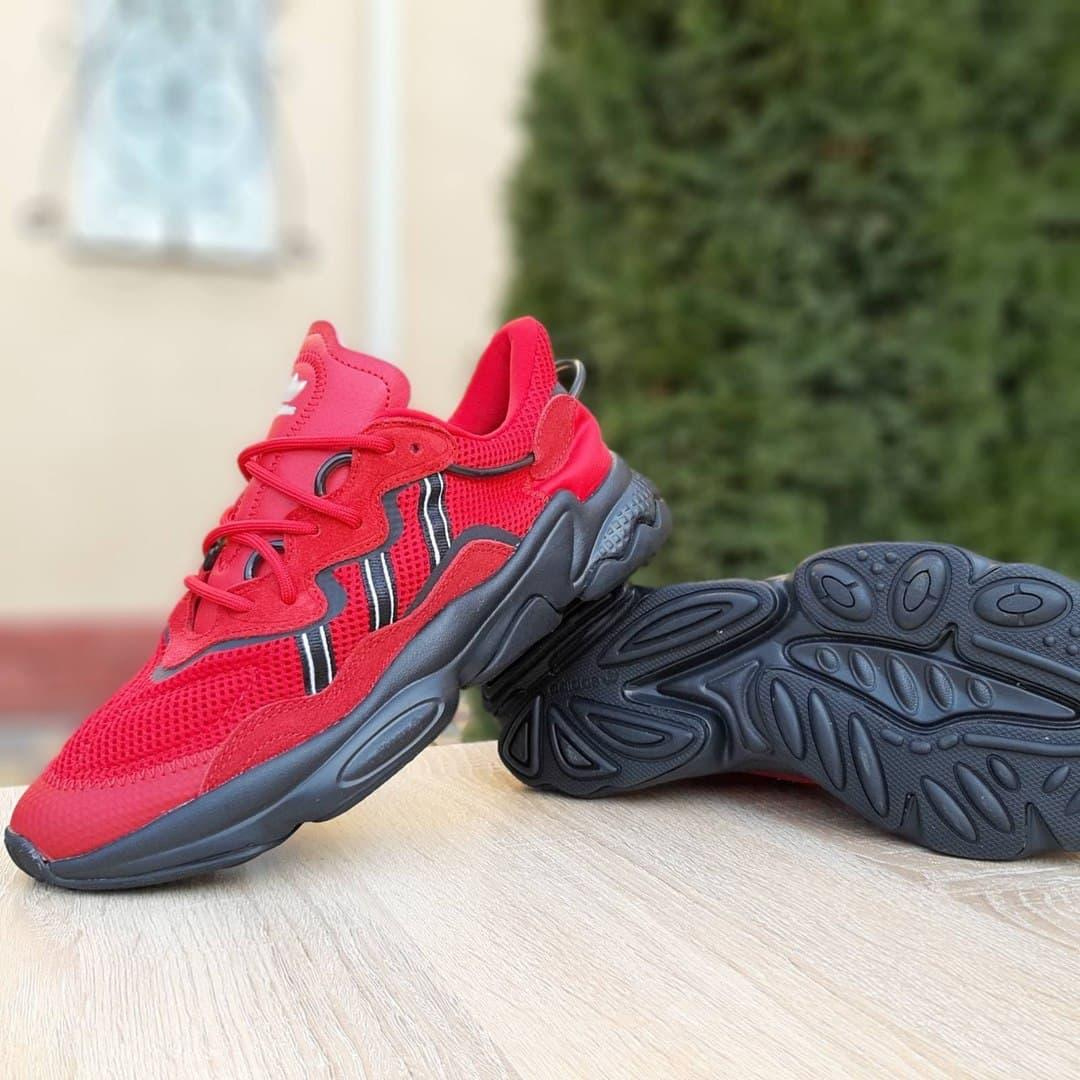 Чоловічі кросівки Adidas Ozwееgо TR (червоний) O1961 спортивна весняна взуття на піні