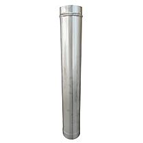 Труба ø160 мм 1 мм 1 метр AISI 321 Stalar димохідна одностінна для димоходу бані сауни з нержавіючої сталі, фото 2