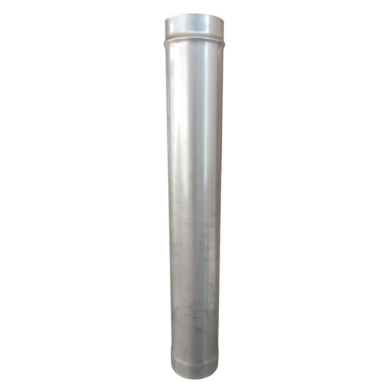 Труба ø150 мм 0,8 мм 1 метр AISI 321 Stalar дымоходная одностенная для дымохода бани сауны из нержавеющей стал