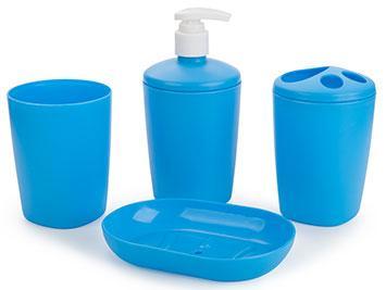 Набір аксесуарів для ванної кімнати Aqua блакитна лагуна (АС 22147000)