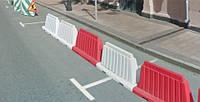 Дорожный пластиковый барьер 1.2 (м), фото 1