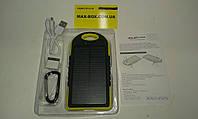 Зарядка от солнца 5000 mha/ 1A, телефон, планшет Желтый