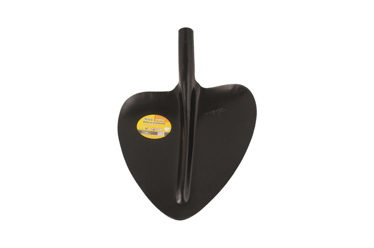 Лопата угольная Mastertool - 320 x 380 мм x 1,3 кг, черная