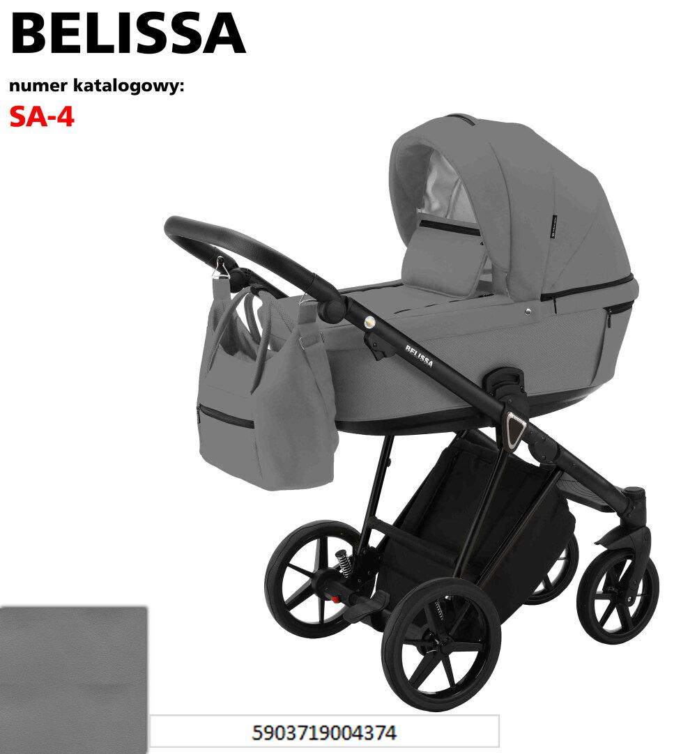 Дитяча універсальна коляска 2 в 1 Adamex Belissa SA-4