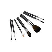 Набор кистей для макияжа, 7 шт., серый (GIPS), Аксессуары