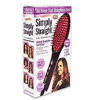 Электрическая расческа-выпрямитель Simply Straight с ЖК дисплеем (GIPS), Приборы для укладки волос