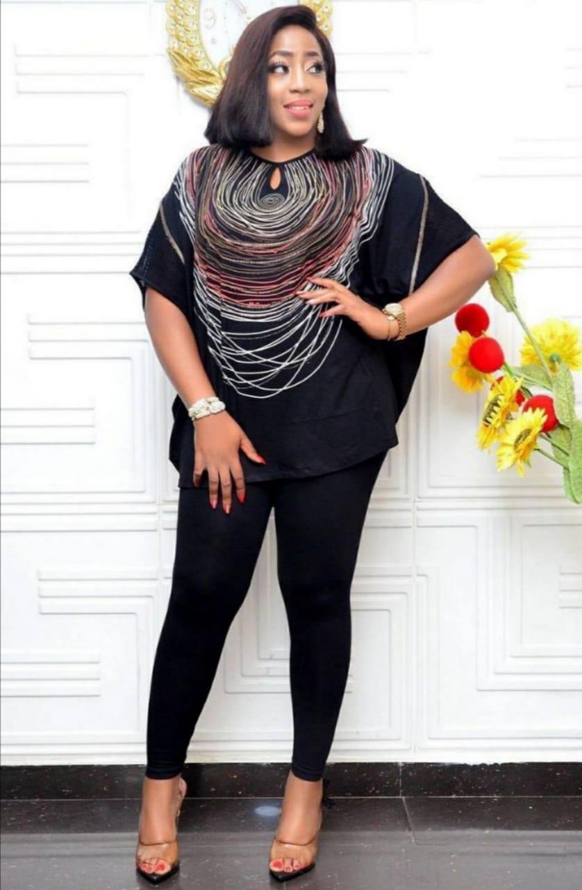 Блуза женская Черный Maxlive